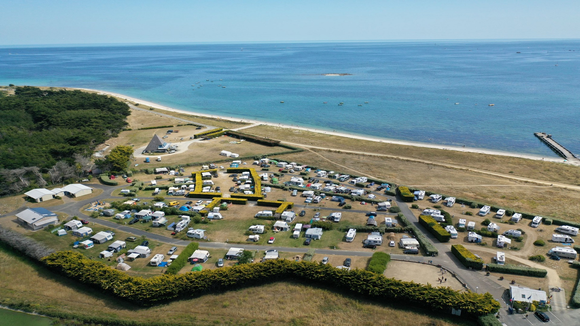 Le camping Toul ar  Ster